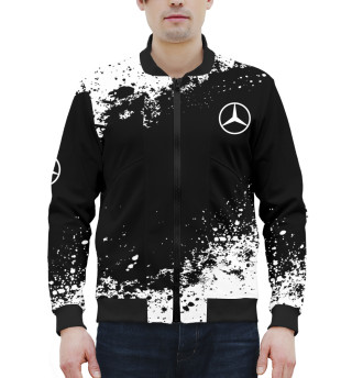 Мужской бомбер Mercedes-Benz abstract sport uniform